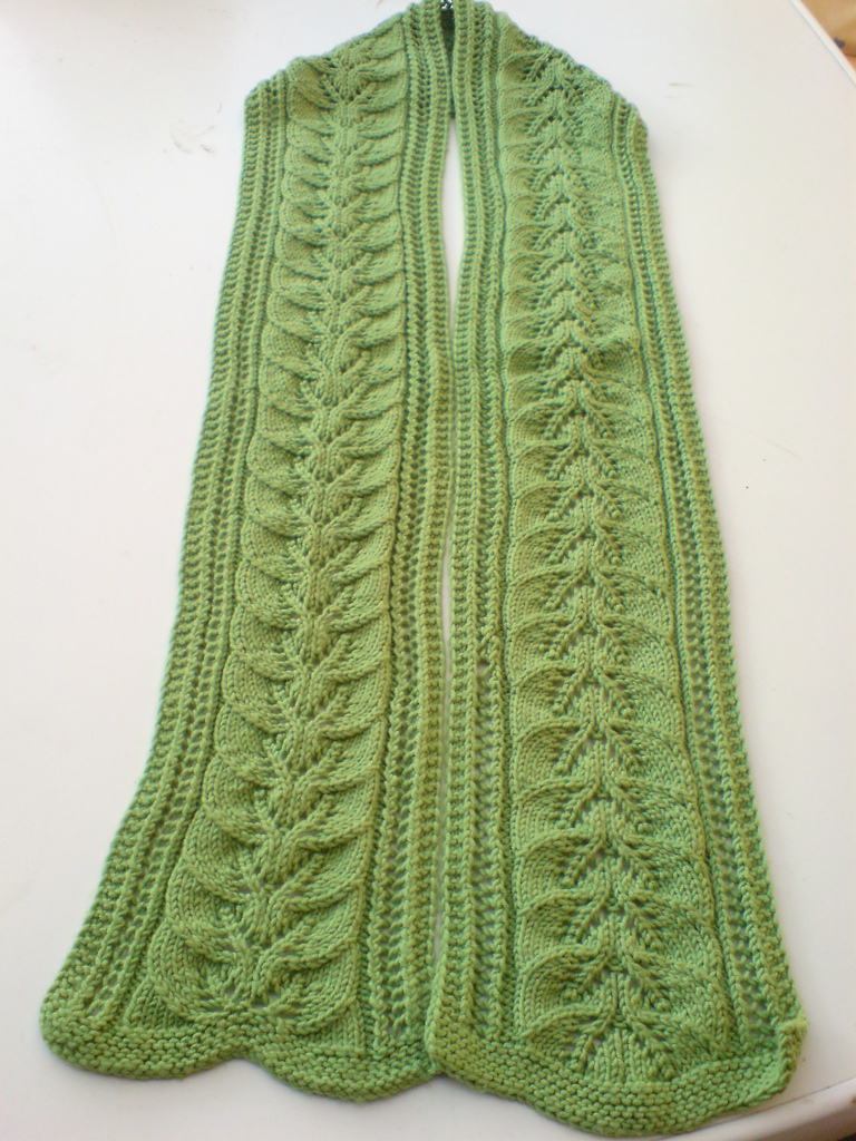 Knitting Patterns Free To Print : Knitting Pattern For Scarf   Browse Patterns